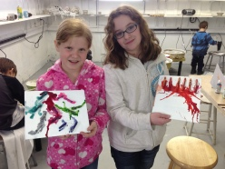 Intro to encaustic paintingduring the after school program...register today.